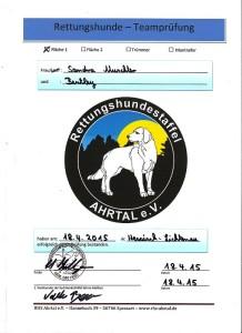 Bentley's Urkunde