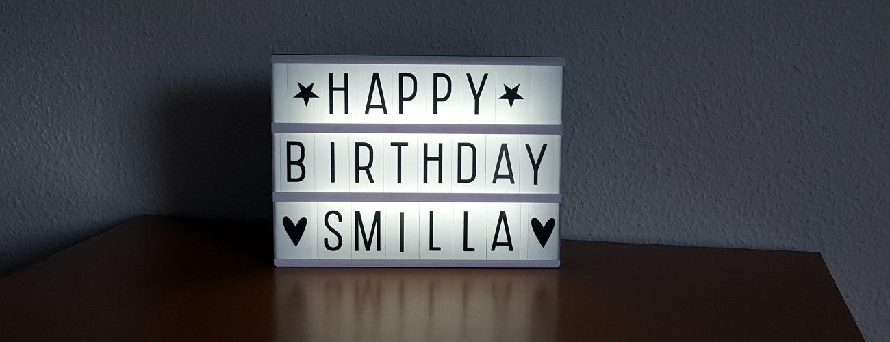 ♥ Smilla feiert heute ihren 8. Geburtstag ♥